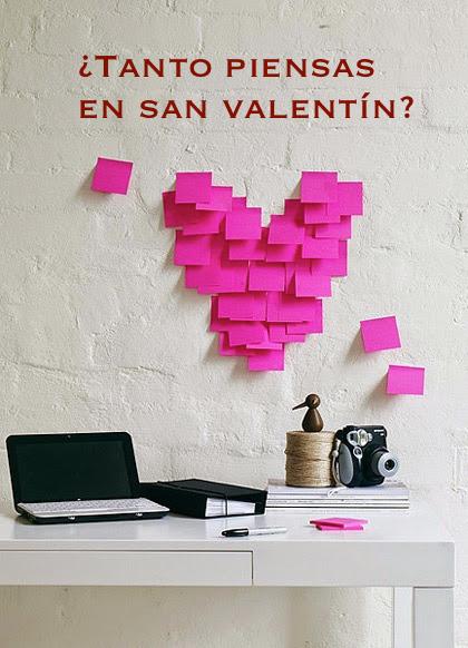 ¿Tanto piensas en San Valentín?